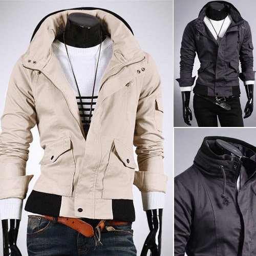 Men Fashion Jacket Dress Wear black men clothing styles
